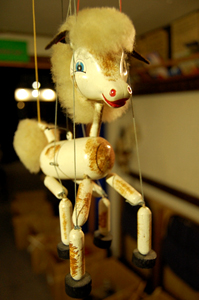 Marionetten   Handpuppen