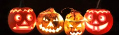 Basteltipp Halloween Rübengeister und Kürbislaternen © ytti.de