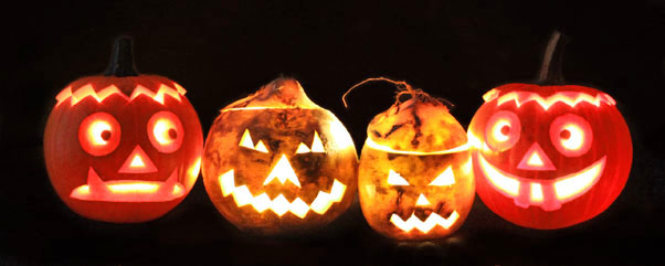 basteln zu halloween r bengeister und k rbislaternen schnitzen ytti. Black Bedroom Furniture Sets. Home Design Ideas
