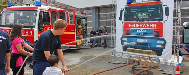 Tag offenen tür  Zentraler Tag der offenen Tür bei der Berliner Feuerwehr am 17 ...