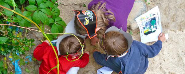Piraten Kindergeburtstag Schatzsuche Kindergeburtstag Piraten