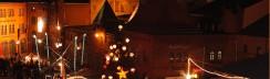 luciaweihnachtsmarkt in der kulturbrauerei  berlin foto