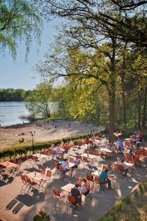 Sacrower See in Potsdam Restaurrant Landleben Terrasse